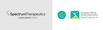 Spectrum Therapeutics partners with Canadian Mental Health Association's Not Myself Today® initiative