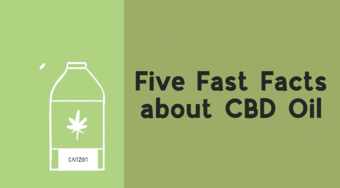 Five Fast Facts about CBD Oil